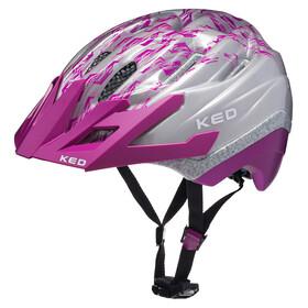 KED Dera II K-Star Cykelhjälm Barn grå/violett